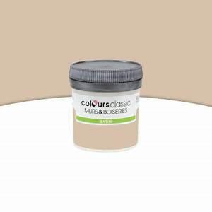 Peinture Beige Doré : peinture murs et boiseries beige dor satin 50ml castorama ~ Zukunftsfamilie.com Idées de Décoration