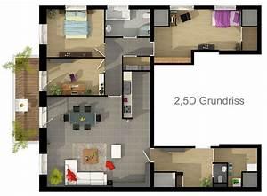 Grundriss Wohnung Erstellen : grundriss zeichnen ihr haus in 3d beste qualit t zum ~ Lizthompson.info Haus und Dekorationen