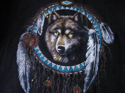 Native American Screensavers Wolf Desktop Wallpapersafari