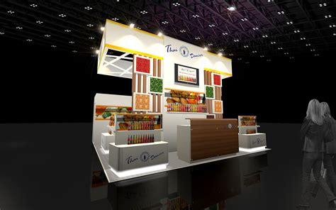 3d cuisine 3d design booth food specialize 3d model max 3ds