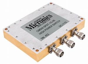 High Power Rf Switches