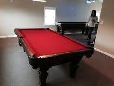 pool table movers charlotte nc brunswick black wolf pool table red felt by everything
