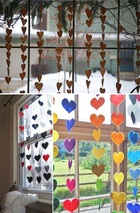 cute diy window decorating ways   amaze
