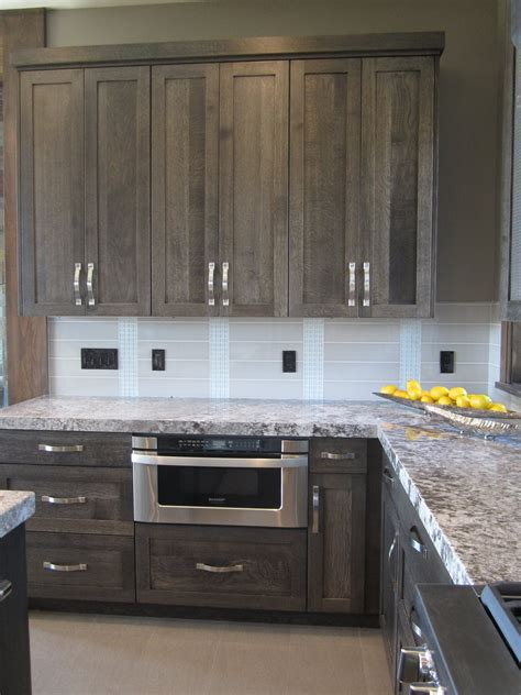 gray stained kitchen cabinets really like the color of the cabinets kitchen pinterest