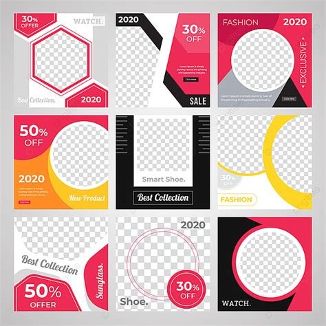 social media poster design template template