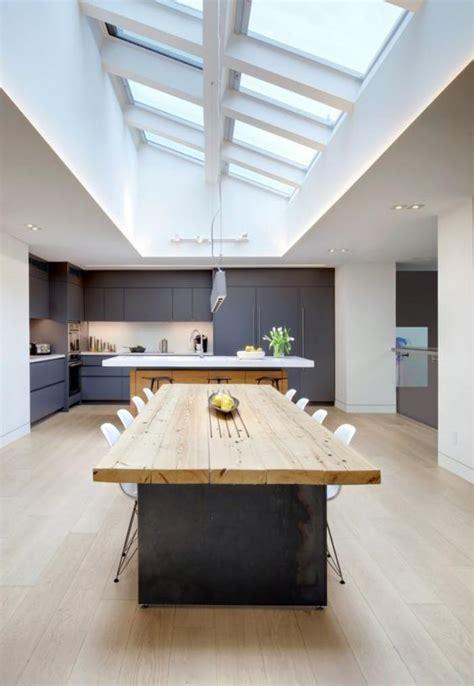 cuisine avec verri鑽e utiliser le puits de lumière pour transformer intérieur archzine fr