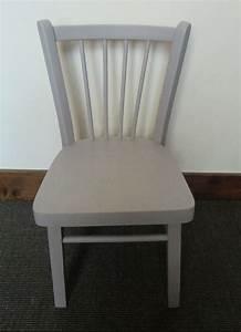 Chaise Blanche Et Grise : petite chaise enfant en bois grise atelier darblay le ~ Teatrodelosmanantiales.com Idées de Décoration