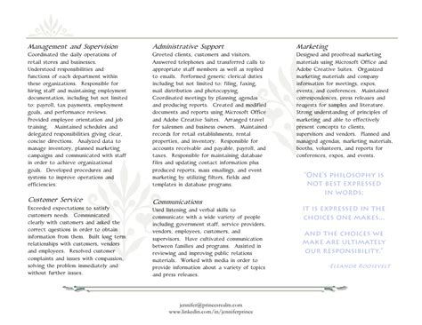 Resume Brochure by Resume Brochure