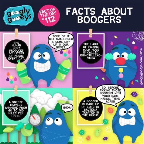 Facts About Boogers Googly Gooeys