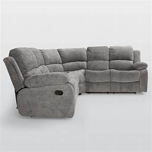 Reclining corner sofas seats reclining leather corner sofa for Sectional sofa with bed and recliner