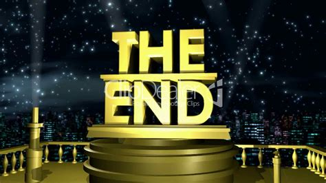 The End HD1080: Royalty-free video and stock footage