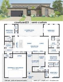custom plans courtyard23 semi custom plan