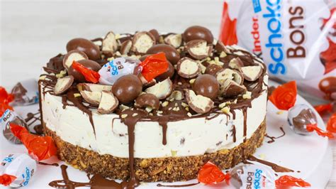 kinder torten backen kinder schoko bon torte ohne backen cook bakery