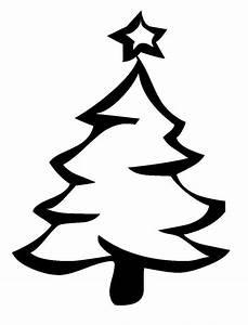 Tannenbaum Schwarz Weiß : kostenlose malvorlage weihnachten weihnachtsbaum mit sternspitze zum ausmalen ~ Orissabook.com Haus und Dekorationen