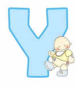 27 best alfabeto 62 images on pinterest baby letters With baby letters for baby shower