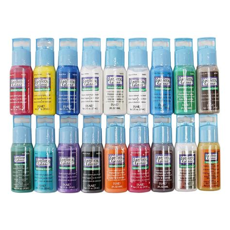 gallery glass 2 oz window color acrylic paint set best