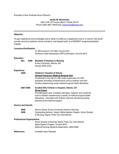 New Resume by New Graduate Resume Templates At