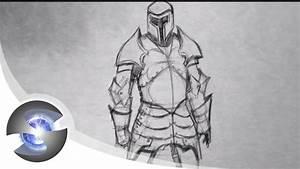 Fantasy Knight Helmet Drawing