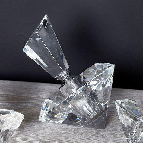 large crystal diamond perfume bottle decor ornament