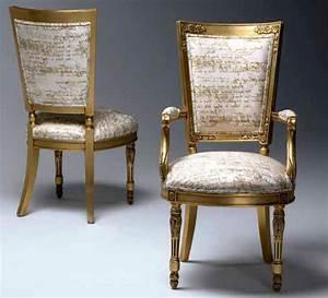 Chaise Style Baroque : chaise baroque sur mesure ~ Teatrodelosmanantiales.com Idées de Décoration