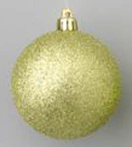 winterland inc glitter ball ornaments 4 quot green glitter ornament with wire
