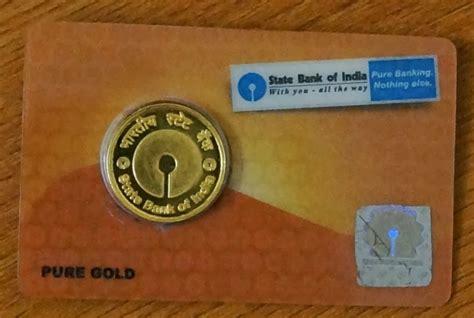 buy gold  sbi bank accounting education