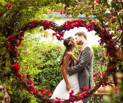 7 beautiful and easy nature inspired wedding ideas