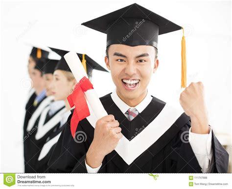 college graduate  graduation  classmates stock photo