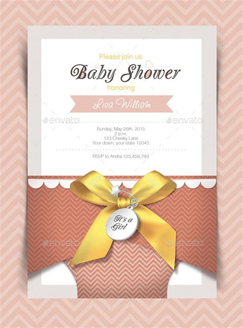 baby shower card designs templates word  psd