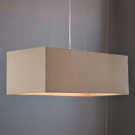 new rectangle shade pendant modern pendant lighting