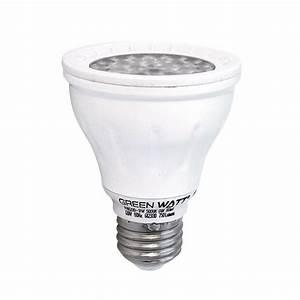 Recessed lighting led watt par k ? flood light