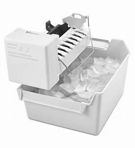 Whirlpool  Eckmfez1  White Automatic Refrigerator Ice