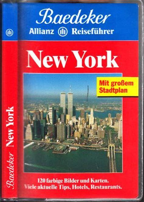 new york reiseführer baedeker new york reisefuehrer zvab