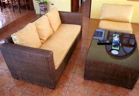 muebles de mimbre peru