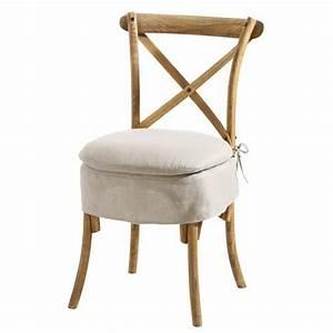 Galette De Chaise Maison Du Monde : chaise tradition maisons du monde ~ Melissatoandfro.com Idées de Décoration