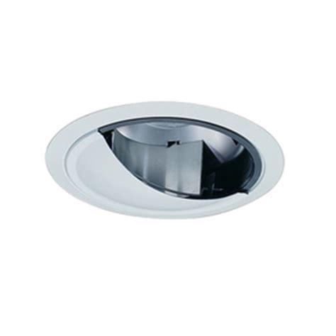 shop nicor lighting white wall wash recessed light trim