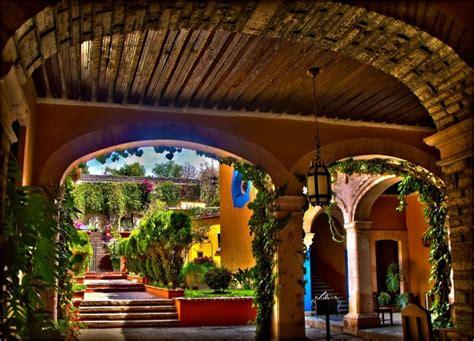 center courtyard house plans hacienda guanajuato mexico antonio ramblés travels