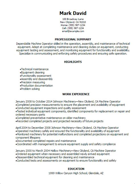 Production Operator Resume by Statistics Assignment Experts Statisticsassignment