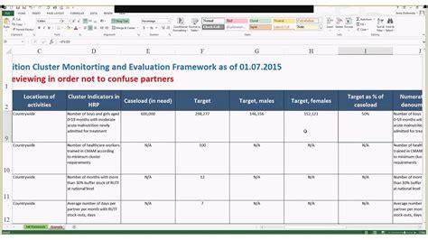 monitoring  evaluation framework youtube