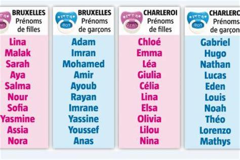 chlo 233 lina malak adam imran voici les pr 233 noms les plus choisis ville par ville en 2014