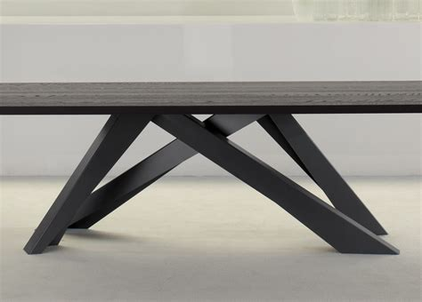 Modern Dining Tables And Chairs by Bonaldo Big Table In Anthracite Grey Bonaldo Tables