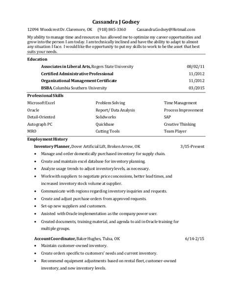 godsey resume