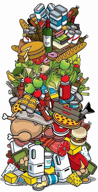 Clipart Pile Robot Distribution Meat Webstockreview Warehouse