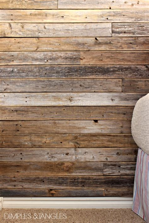 wood planks on walls diy wood fence plank wall tutorial dimples and tangles