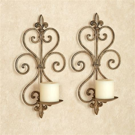 Wrought Iron Sconces by Wrought Iron Wall Sconces Lighting Ideas Black Modern