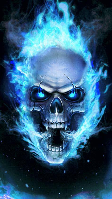 Skull Animated Wallpaper - hi everyone i ll show you a cool skull live