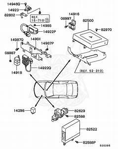 Japanese Mitsubishi Engine Diagram