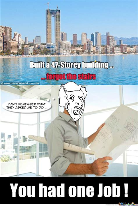 Architect Meme - genius architect by recyclebin meme center