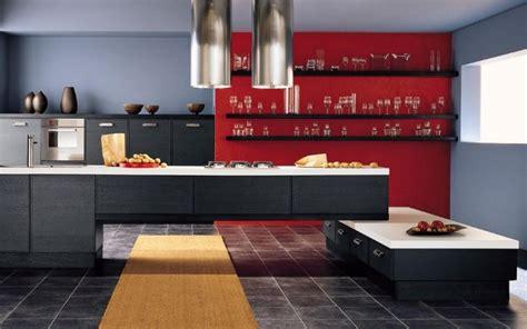 peinture cuisine grise peinture murale cuisine 50 exemples design bi et tricolores