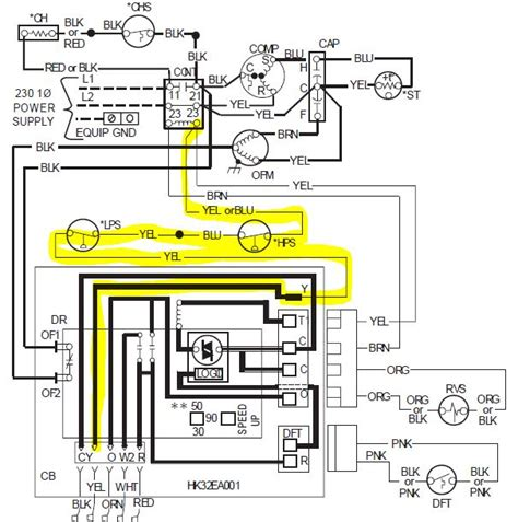 payne air handler wiring diagram i a payne pf1mna036 heat that is acting oddly